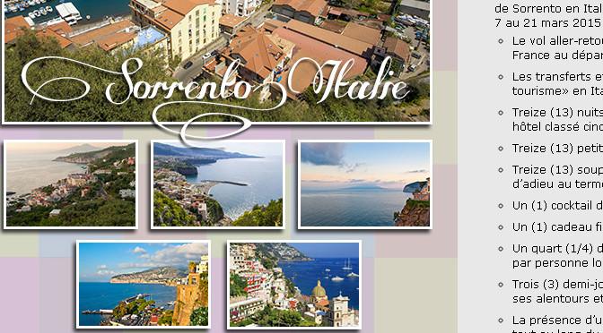 Italie, Pour le plaisir, 5 000$ +
