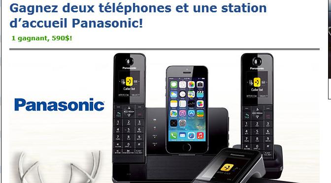Panasonic, concours
