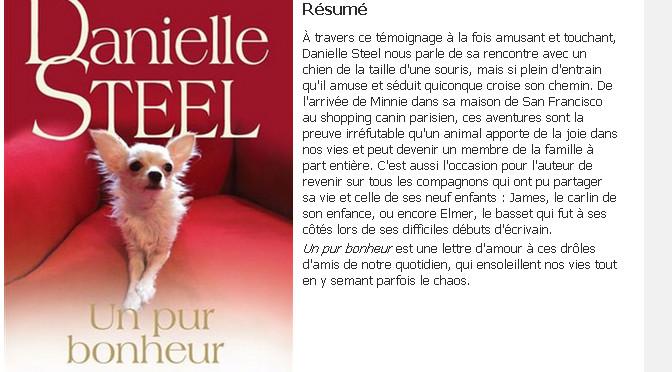 Danielle Steel, concour