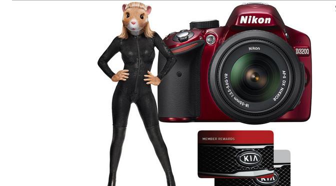 Nikon, KIA, concours, Hamster