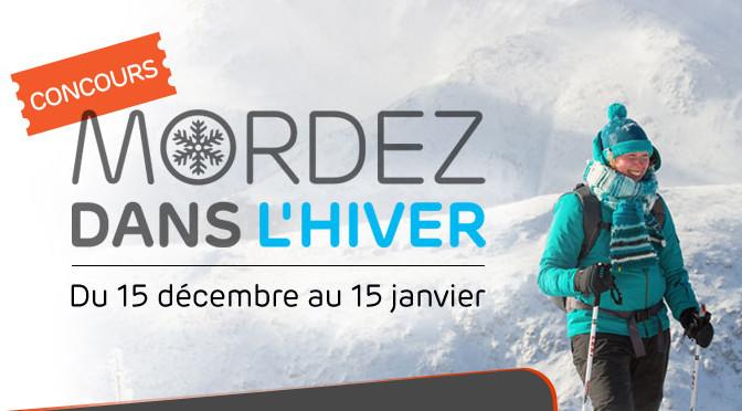 Mordez dans l'hiver, concours, 3 nuités, Mont-Albert