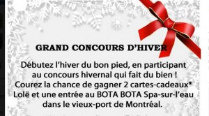 Concours, spa,