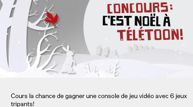 Teletoon, concours, Hebdomadaire, console de jeux