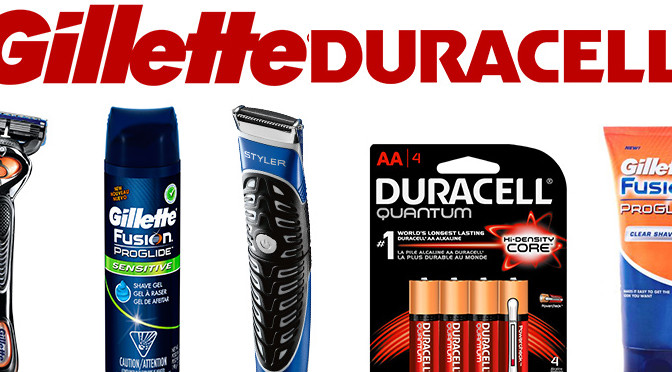 Gillette, Duracell, concours