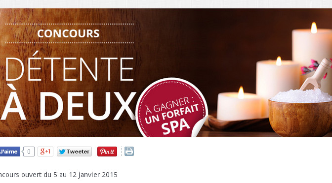 concours, forfait spa