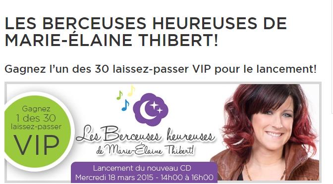 Marie-Hélène Thibert, concours