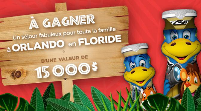 concours Danino voyage à gagner à Orlando en floride