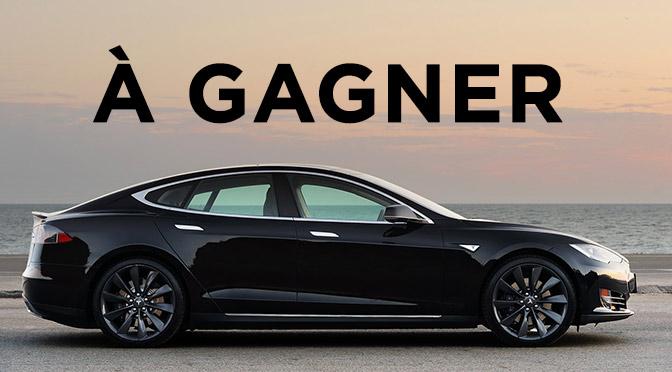 Concours Tesla S à GAGNER !