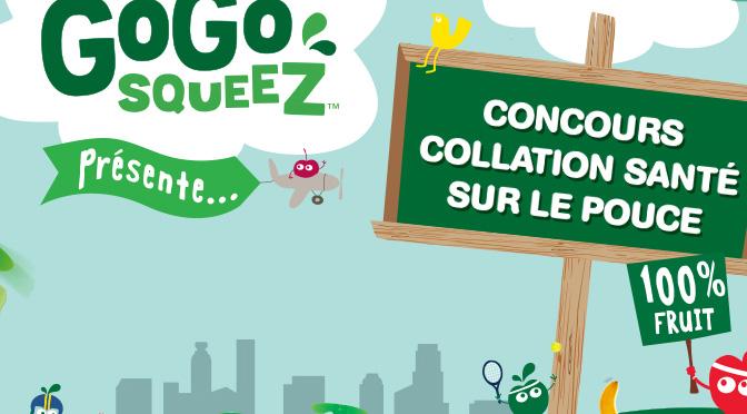 Concours GoGo Squeez