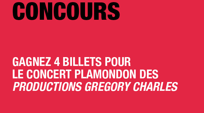Concours Plamondon