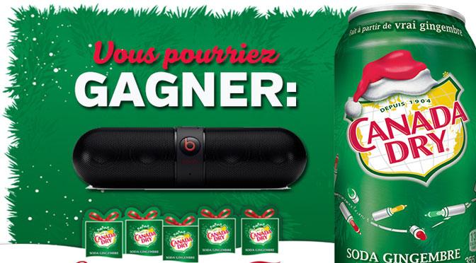 Concours Canada Dry Haut-Parleur Beat