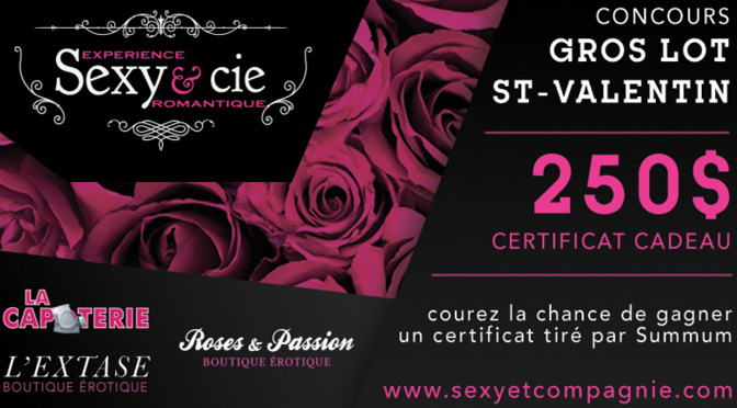 Concours Sexy&Cie