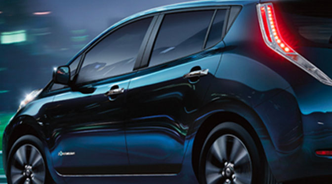 Concours Nissan Leaf