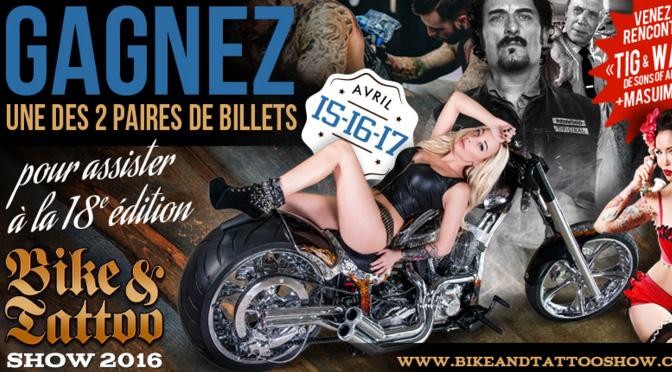 Concours Bike&Tattoo