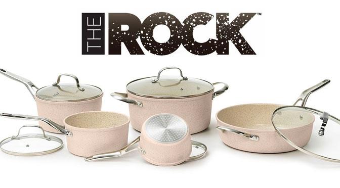 concours the rock gagnez une batterie de cuisine c ramique concours du jour. Black Bedroom Furniture Sets. Home Design Ideas