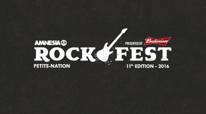 Concours Rockfest 2016 Billets et passe