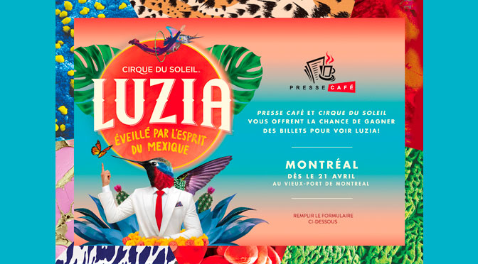 Concours Luzia du Cirque du soleil