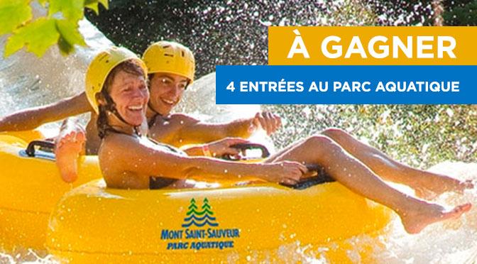 Concours billet parc aquatique st-sauveur