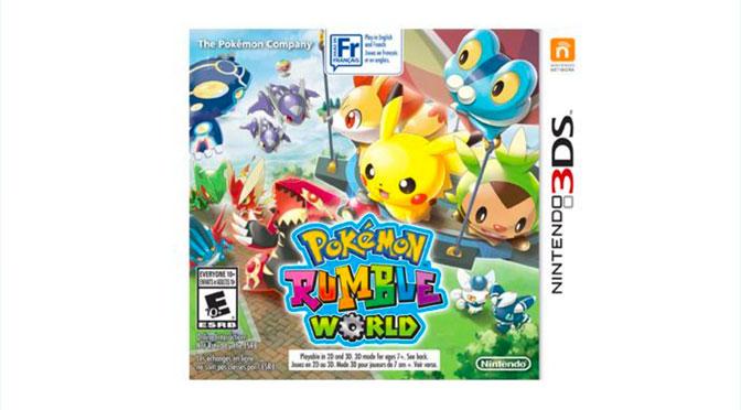 Pokemeon Nintendo 3DS