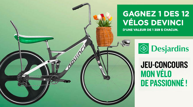 Concours desjardins Vélo Devinci