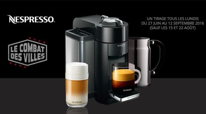 Concours Nespresso virtuoline