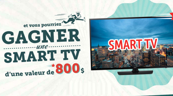 concours Frito Lays Smart TV