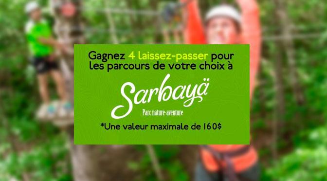 concours Sarbayä Parc Nature