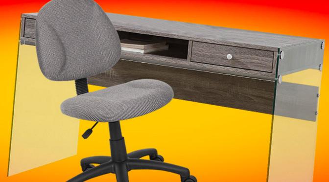 Concours Chaise de bureau et bureau