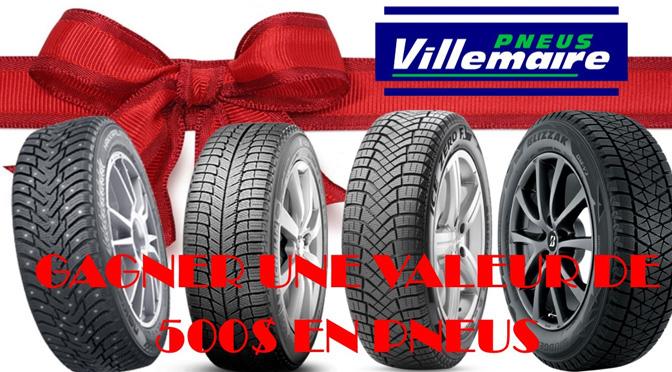 Concours pneu hiver Villemaire