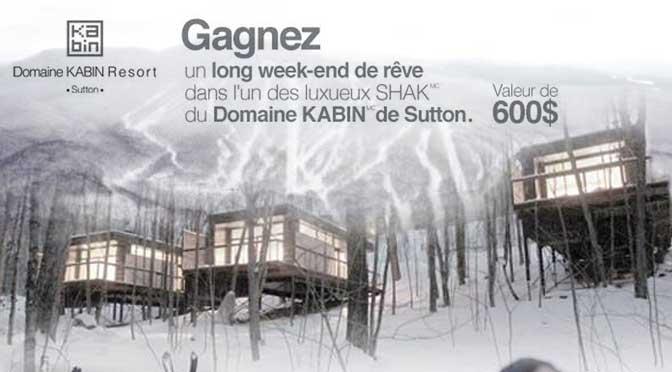 Concours Sutton Kabin