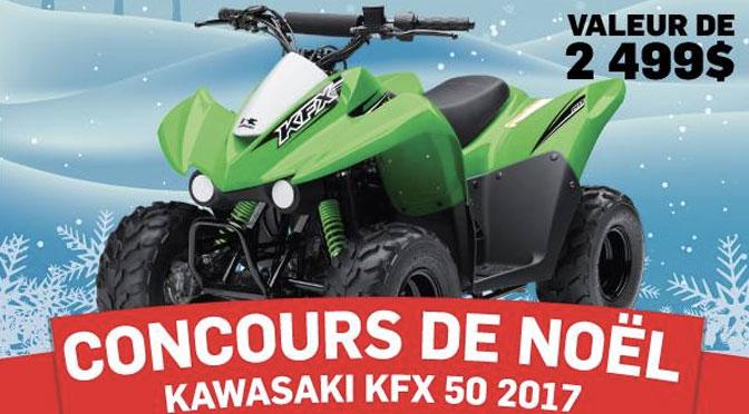 Concours VTT Kawasaki
