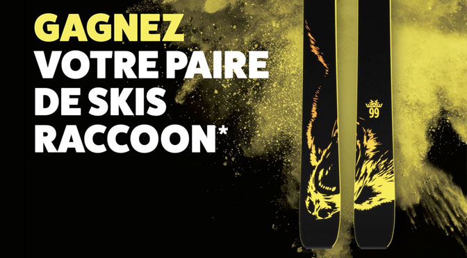 concours Ski Racoon