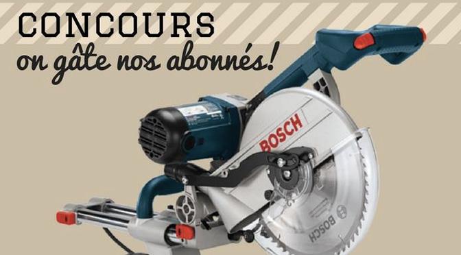 Concours scie Bosch