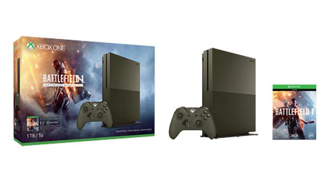 Concours Xbox One S Battlefield