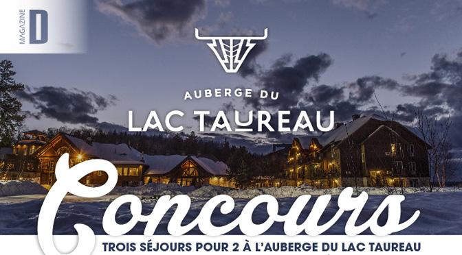 Concours Lac taureau