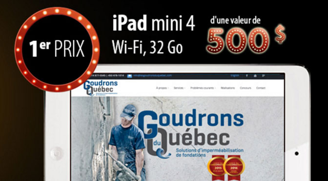 Concours Groudons Quebec