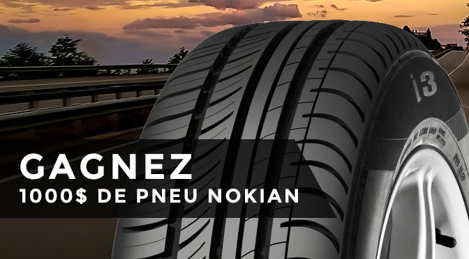 concours lapresse 1000 pour acheter des pneus nokian tyres concours du jour. Black Bedroom Furniture Sets. Home Design Ideas