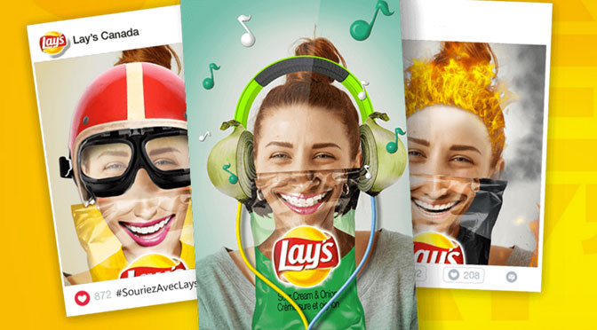 Concours sourire lays