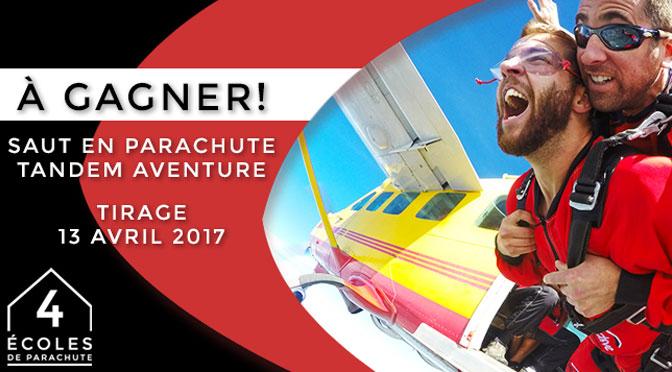 concours parachute
