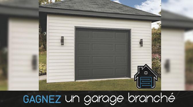 Concours GARAGA « Gagnez Un garage branché »