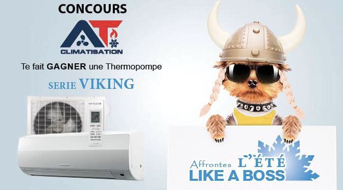 concours thermopompe At climatisation