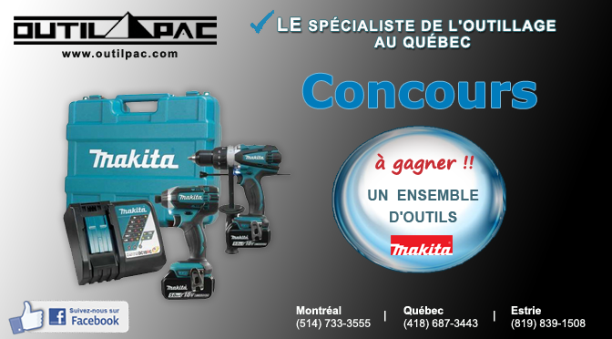 Concours Outils Makita