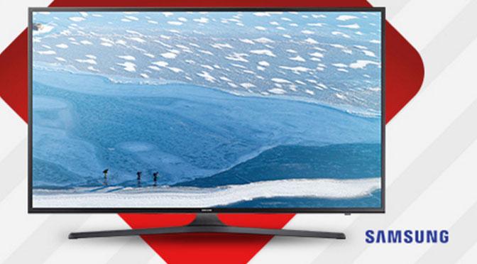 """Gagnez un Téléviseur Samsung 4K de 58"""" au concours organisé par Brault et Martineau"""