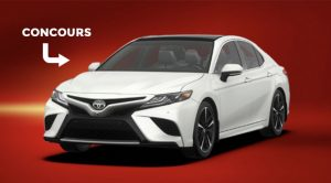 Concours toyota Camry 2018