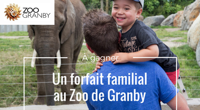 Concours zoo granby