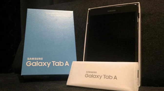 Concours Tablette Samsung Galaxy Tab A à gagner