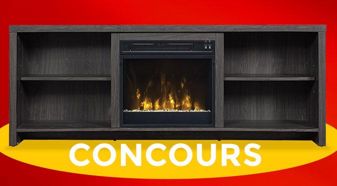 Concours foyer electrique Economax