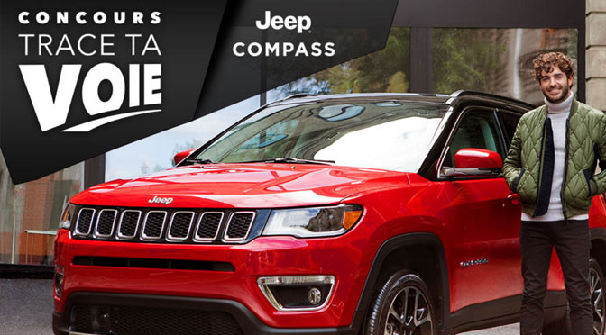 Concours gagnez un Jeep Compas 2018