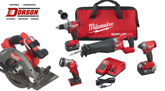 Concours Facebook outil Milwauke M18