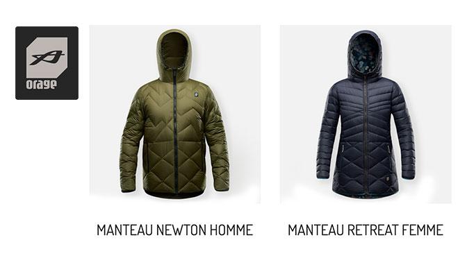 Concours Manteau d'hiver Orage